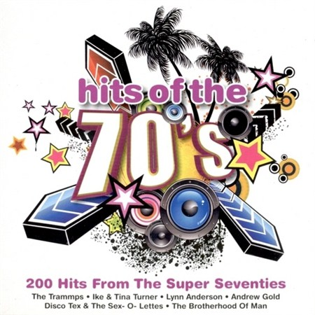 Hits Of The 70's: 200 Hits From The Super Seventies (2009)