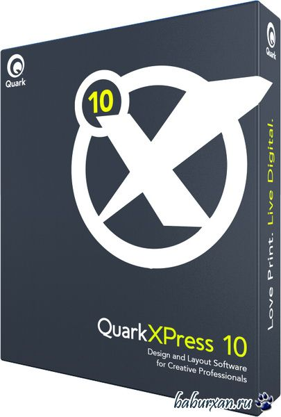 QuarkXPress 10.0.1