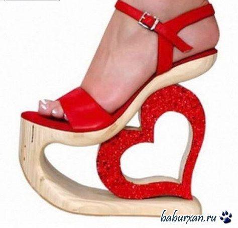 Прикольные туфли. 22 фото