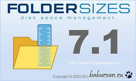 FolderSizes 7.1.92 Enterprise Edition (2014) RUS RePack by KpoJIuK