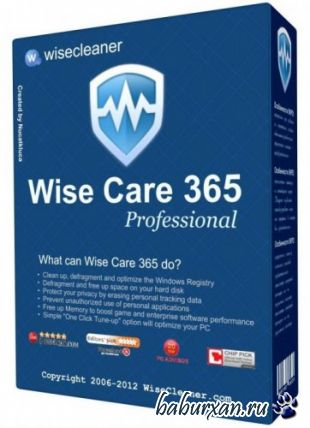 Wise Care 365 Pro 3.35.295 Final (2014) RUS + Portable
