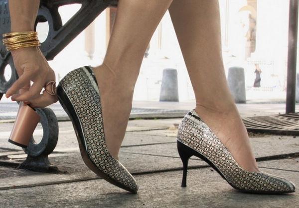 Туфли со съемным каблуком 6 фото