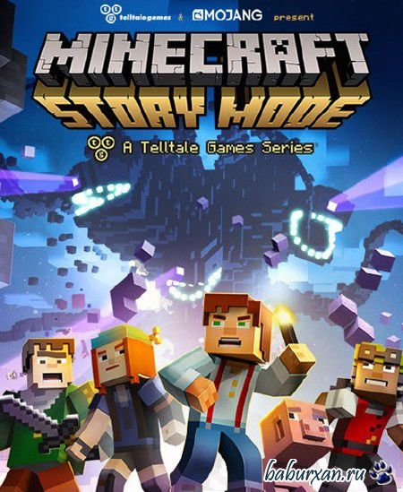 Minecraft: Story Mode - A Telltale Games Series. Episode 1-2 (2015/RUS/ENG/RePack от R.G. Freedom)