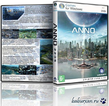 Anno 2205: Gold Edition (2015/RUS/ENG/Milti/RePack от xatab)