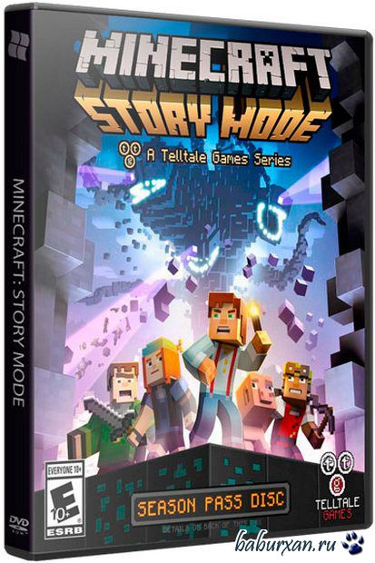 Minecraft: Story Mode - A Telltale Games Series. Episode 1-3 (2015/RUS/ENG/RePack от R.G. Freedom)